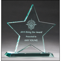 "5.875"" Star Glass Award"