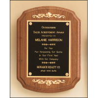 Coventry American Walnut Plaque