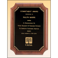 Coventry American Walnut Plaque - 4 Sizes