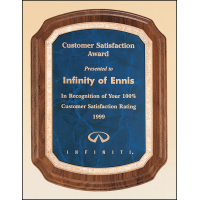 Coventry American Walnut Plaque - 3 Sizes