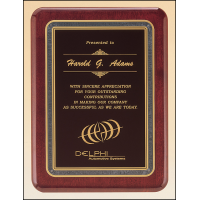 Rosewood Designer Plaque - 4 Sizes