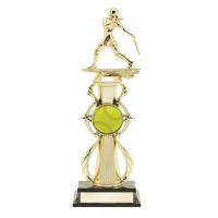"13"" Color Sport Trophy - Softball"