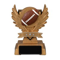 "5.5"" Victory Wing Resin - Football"