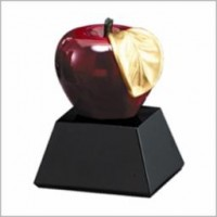 "4.75"" Apple Resin Award"