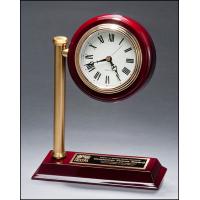 "9"" Rail Station Desk Clock"