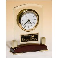 "7.75"" Glass Clock"