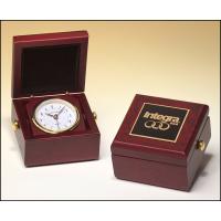 """3.5"""" Mahogany Box Clock"""