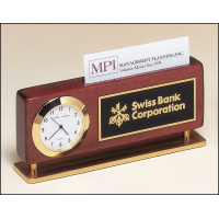 "5.875"" Business Card Clock"