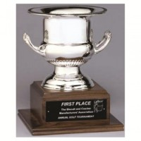 "13"" SILVER PLATED WINE COOLER AWARD"