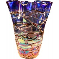 "14"" Art Glass Vase"