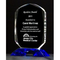 "6.125""-9.25"" Crystal Award"