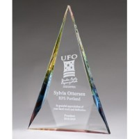 "10""-12"" Crystal Award"