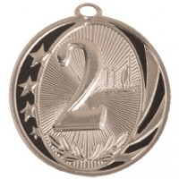 "2"" MidNite Star Medal - 2nd Place"