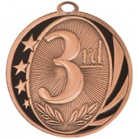 "2"" MidNite Star Medal - 3rd Place"