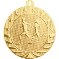"2"" Starbrite Medal - Cross Country"