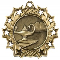 "2.25"" Ten Star Medal - Graduate"