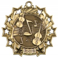 "2.25"" Ten Star Medal - Orchestra"