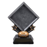 "7""-11.25"" Diamond Award - Football"