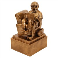 "6"" Fantasy Football Resin Award"
