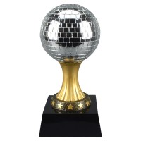 "6""-12"" Mirror Ball Resin"
