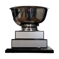 "10""-12"" Metal Bowl Tier Trophy"