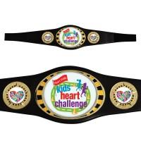 Oval Championship Award Belt