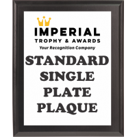 Standard Black Plaque