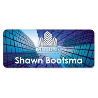 Aluminum Name Badge - 4 Sizes!