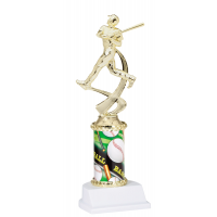 "10"" Sport Graphic Trophy - Baseball"