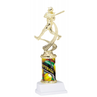 "10"" Sport Graphic Trophy - Softball"