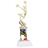 "10"" Sport Graphic Trophy - Cheer"