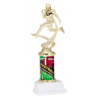 "10"" Sport Graphic Trophy - Football"
