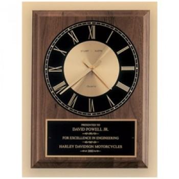 """10""""-12"""" Walnut Clock"""