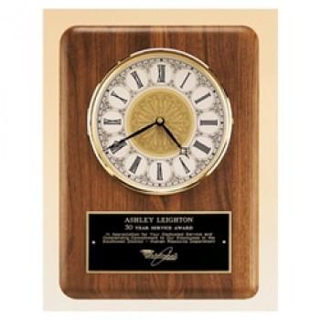 """15"""" Walnut Clock"""