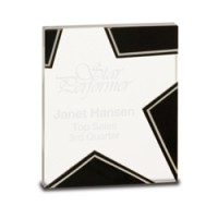 "5.5""  Glass Star Award"