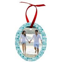 Oval Aluminum Ornament