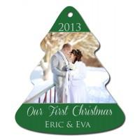 Holiday Tree Aluminum Ornament