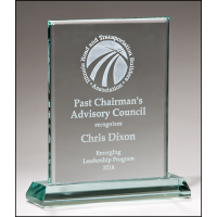 "5""-7"" Premium Series Glass Award"