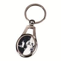 Metal Keychain - Oval