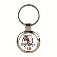 Metal Keychain - Round