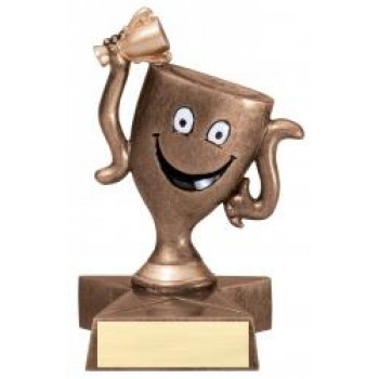 "4"" Lil' Buddy Resin - Winners Cup"