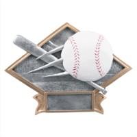 "6""-8.5"" Diamond Resin - Baseball"