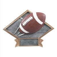 "6""-8.5"" Diamond Resin - Football"
