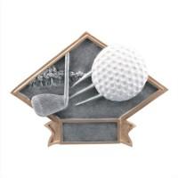 "6""-8.5"" Diamond Resin - Golf"