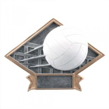 """6""""-8.5"""" Diamond Resin - Volleyball"""