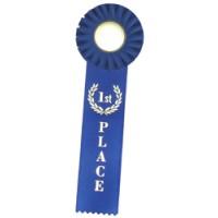 1 Streamer Rosette - 1st Place