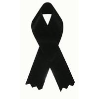 Awareness Ribbon - Black