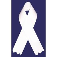 Awareness Ribbon - White