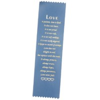Religious Ribbon - Pinked - Love