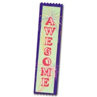 Full Color Ribbon - Awesome